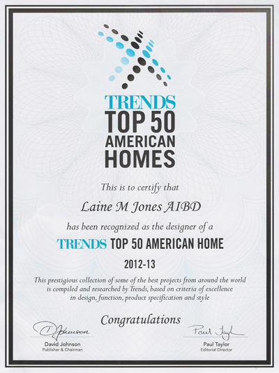 awards top 50 homes