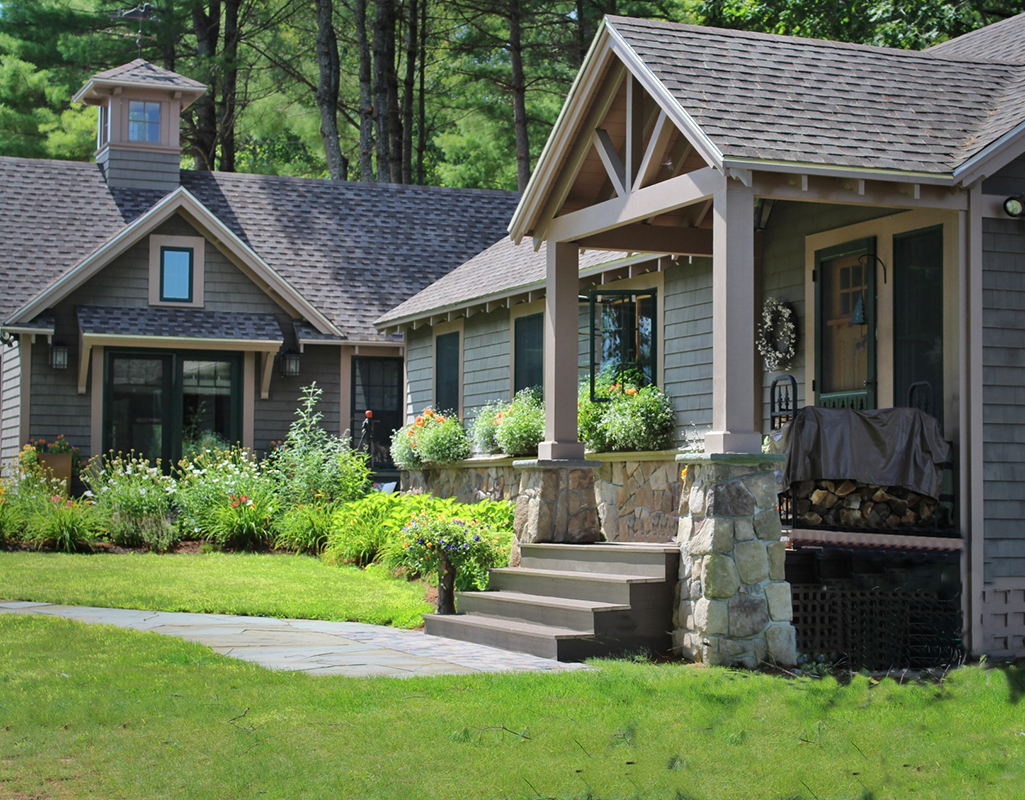 Laine m jones design cottages summer homes for Cottage architecture