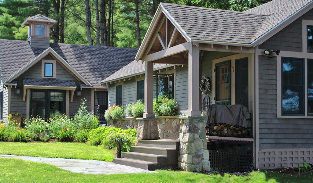 cottage design by architect laine jones