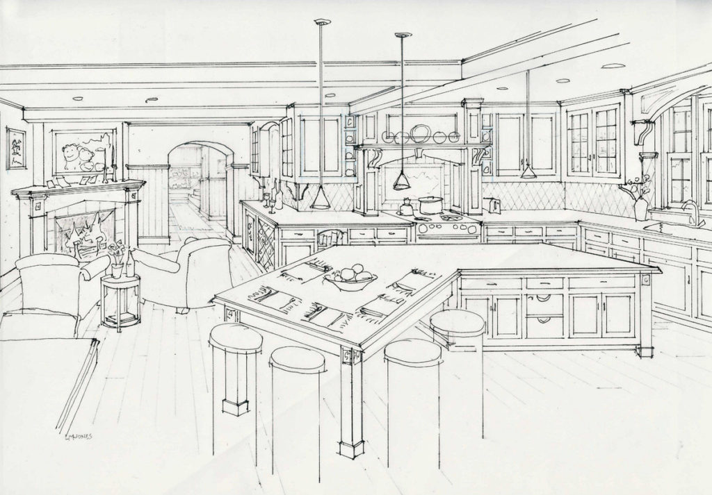 Kitchen Design Concept — Laine Jones Design