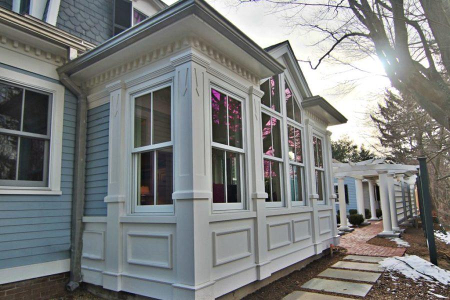 Laine Jones Design, North Shore Boston, Home Exterior Renovation