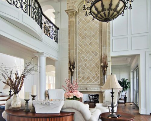 Architectural Interior Detail — Laine M. Jones Design