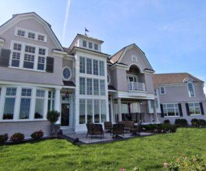 Waterfront Estate Architecture by Laine Jones Design, Massachusettes
